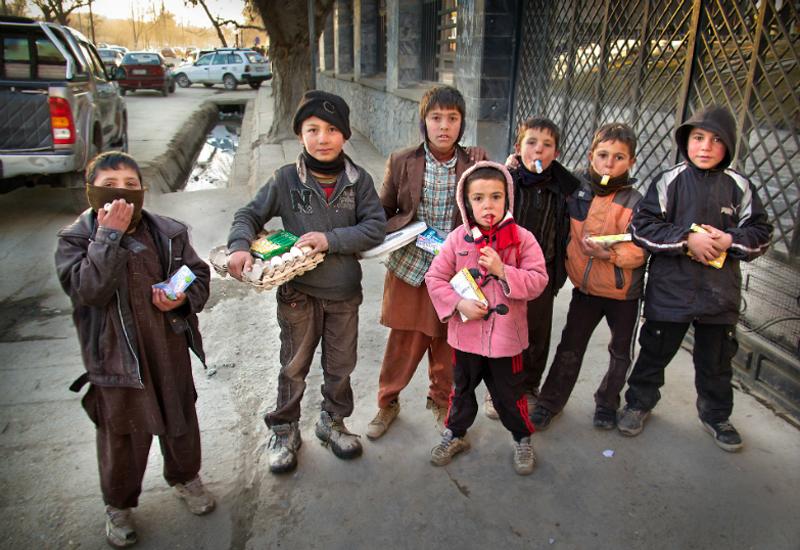 Afghan School Kids