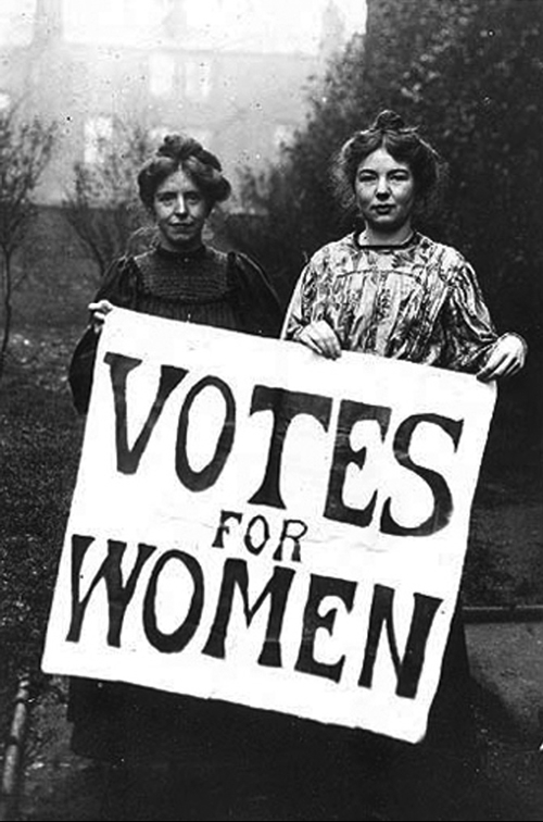 Woman Suffrage and Womens Rights