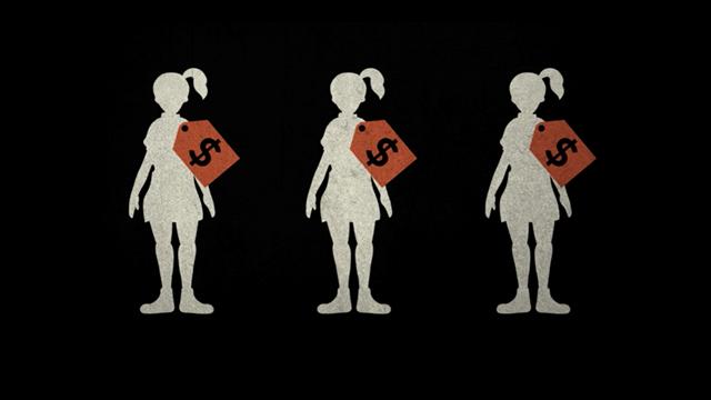 Sex trafficking of women, cross dresser slut