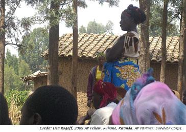 Rwandan Women's Leadership Spreads to Villages