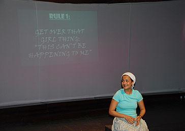 Ensler's 'Emotional Creature' Starts Off in India